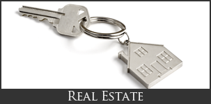 House-Shaped Keychain - Law Firm